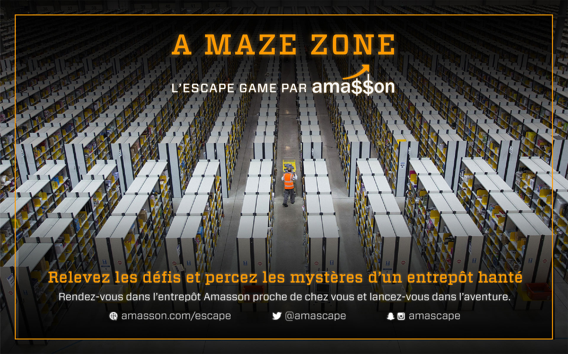 Amasson : Pub A Maze Zone