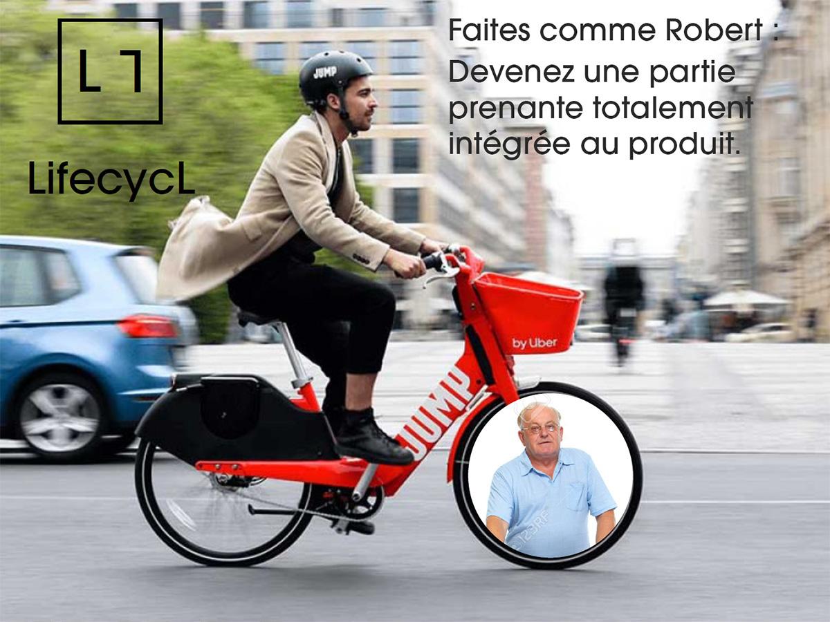DelivrubeR : Robert recyclé