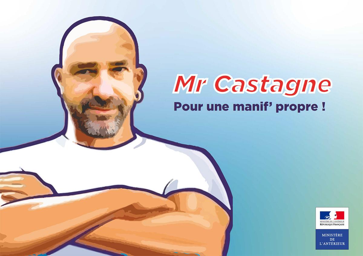 Ministère de l'Antérieur : Mr Castagne